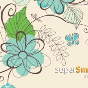 SuperSmartTag_floral